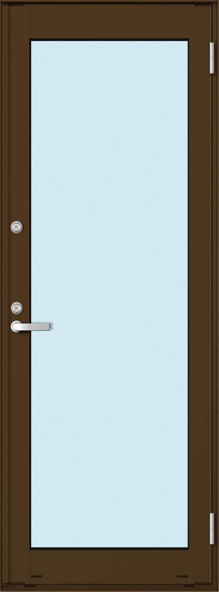YKKAP勝手口 框ドア エピソード仕様 複層ガラス[2シリンダー仕様] 全面ガラスタイプ:[幅730mm×高2030mm]【ykk】【YKK勝手口ドア】【ドア】【アルミサッシ】【サッシ】【ペアガラス】【フロア収まり】