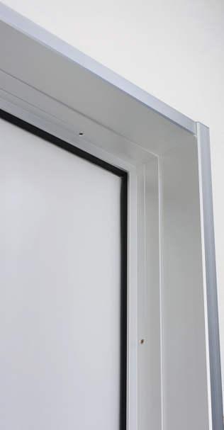 YKKAPオプション玄関ドアプロント:アルミ製内額縁
