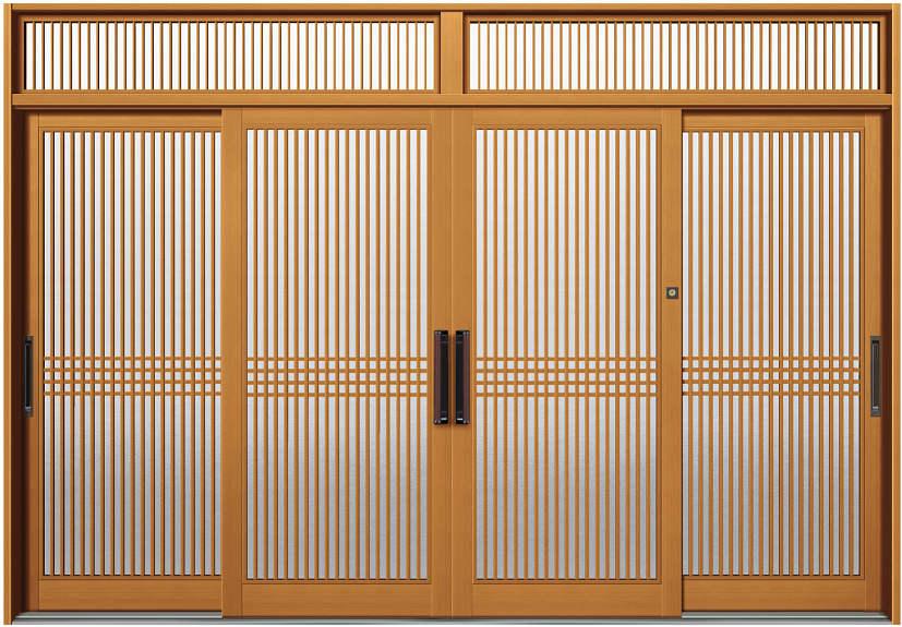 ファッションデザイナー DHS-3452:D3仕様[幅3510mm×高2410mm]【ykk】【YKK玄関引き戸】【引き戸】【さえ】【玄関戸】【玄関ドア引戸】【gennkann】:ノース&ウエスト 新槇4枚建[ランマ付] YKKAP玄関 断熱玄関引戸 冴II-木材・建築資材・設備