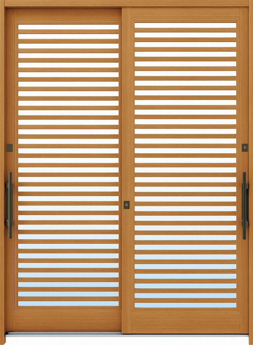 新版 れん樹[伝統和風] YKKAP玄関 A10[木目柄]:複層ガラス[幅1690mm×高1930mm]【ykk】【YKK玄関引き戸】【れんじゅ】【玄関戸】【玄関ドア引戸】【gennkann】:ノース&ウエスト 6尺2枚建[ランマ無] 断熱玄関引戸-木材・建築資材・設備