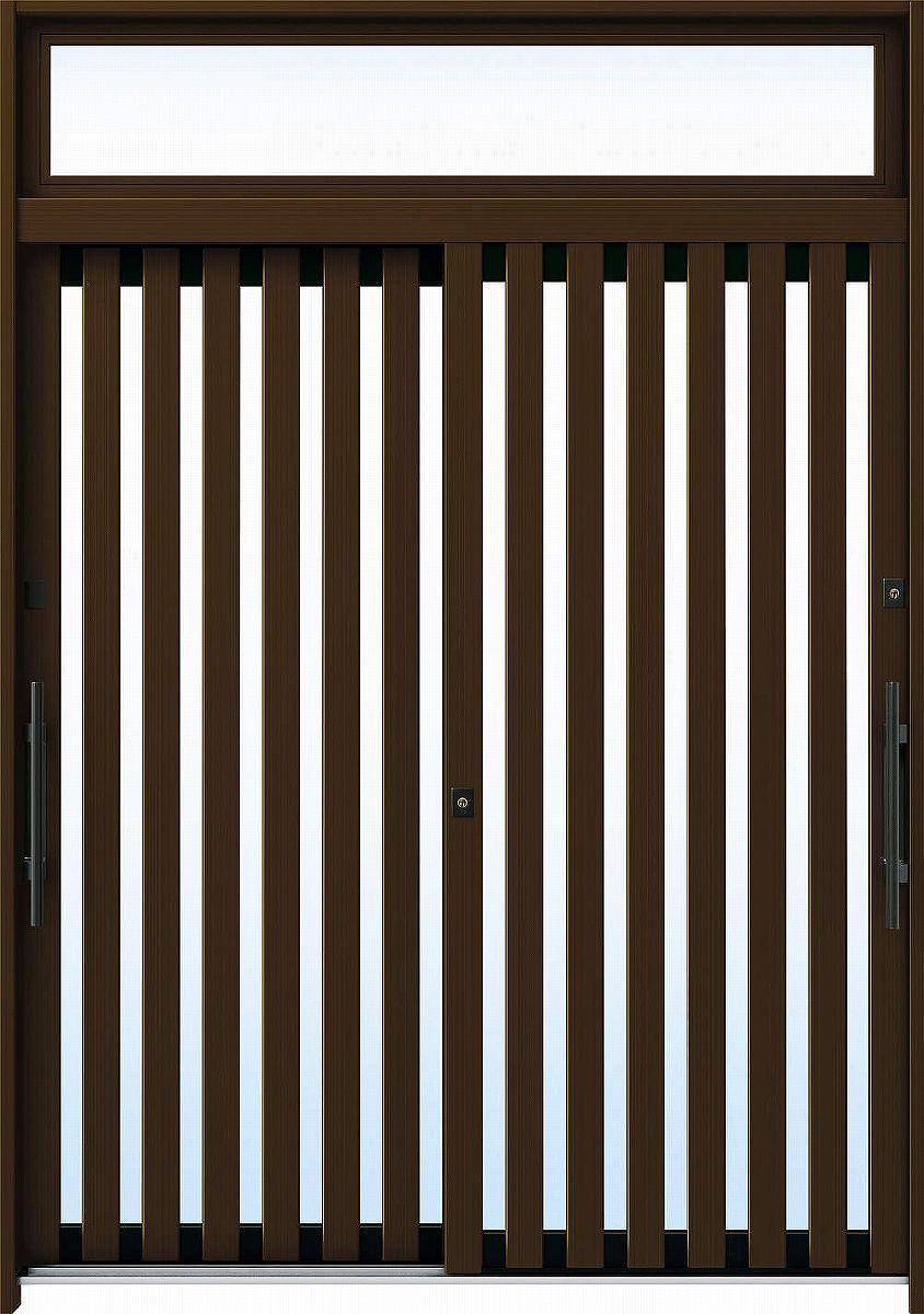 愛用 6尺2枚建[ランマ付] れん樹[伝統和風] A01[アルミ色]:複層ガラス[幅1870mm×高2330mm]【ykk】【YKK玄関引き戸】【れんじゅ】【玄関戸】【玄関ドア引戸】【gennkann】:ノース&ウエスト 断熱玄関引戸 YKKAP玄関-木材・建築資材・設備