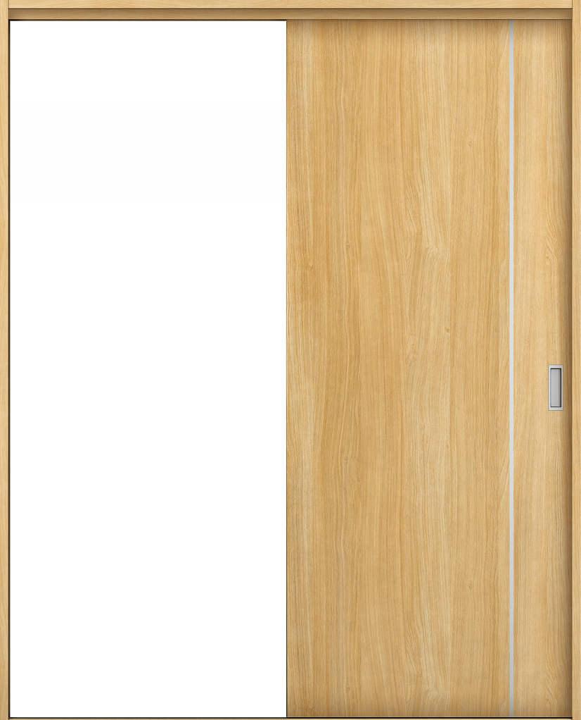 YKKAP室内引戸 ラフォレスタ[スタイリッシュ][木目たて] 片引き戸 TC ノンケーシング枠[集合住宅向け]:[幅1450mm×高2033mm]【YKK】【YKK室内引戸】【室内引き戸】【室内建具】【木製建具】【間仕切】【扉】【建具引き戸】【内装建材】【建材】