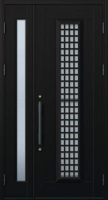 YKKAP玄関 玄関ドア 通風プロント[Cタイプ] 親子[入隅用] ドア高23タイプ:S12型[幅1135mm×高2330mm]【ykk】【YKK玄関ドア】【通風ドア】【網戸付き】【通風玄関】