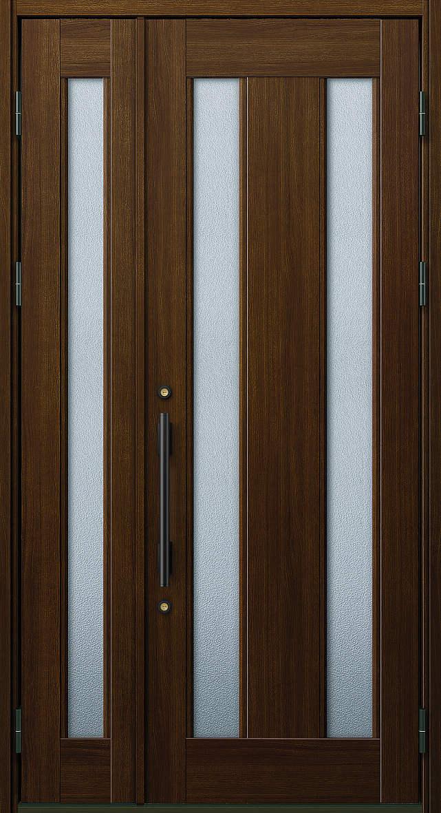 YKKAP玄関 玄関ドア プロント[Aタイプ] 親子 ドア高20タイプ:S02型[幅1235mm×高2018mm]【ykk】【YKK玄関ドア】【アルミドア】【アルミサッシ】【gennkann】