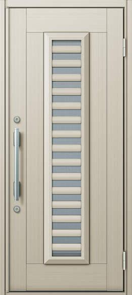 YKKAP玄関 玄関ドア 通風プロント[Cタイプ] 片開き ドア高20タイプ:S11型[幅872mm×高2018mm]【ykk】【YKK玄関ドア】【通風ドア】【網戸付き】【通風玄関】