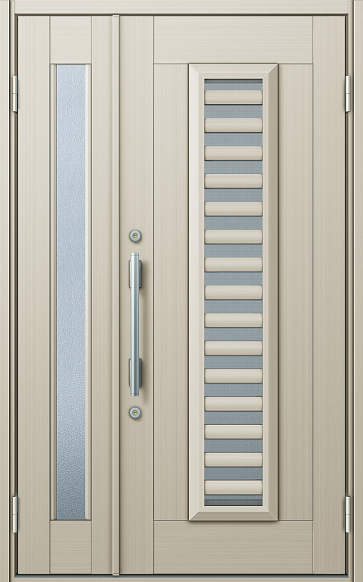 YKKAP玄関 玄関ドア 通風プロント[Cタイプ] 親子 ドア高20タイプ:S11型[幅1235mm×高2018mm]【ykk】【YKK玄関ドア】【通風ドア】【網戸付き】【通風玄関】
