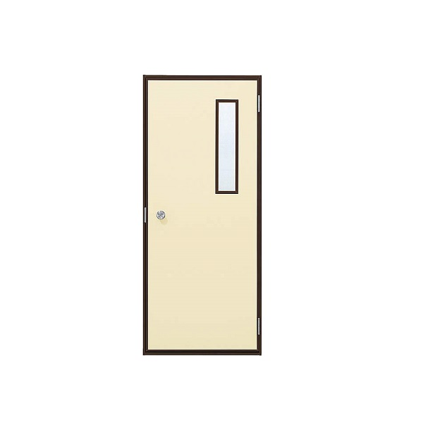 YKKAP勝手口 汎用ドア2HD[フラッシュドアタイプ] 小窓付タイプ ランマ無[半外付]:[幅796mm×高2007mm]【ykk】【YKK勝手口ドア】【土間収まり】【サッシ】【レバーハンドル】【安価】【ケースハンドル】