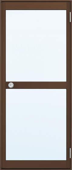 YKKAP勝手口 汎用ドア2HD[框ドアタイプ] 片開き 握り玉[ランマ無] 内付:[幅796mm×高1757mm]【ykk】【YKK勝手口ドア】【土間収まり】【ドア】【サッシ】【安価】