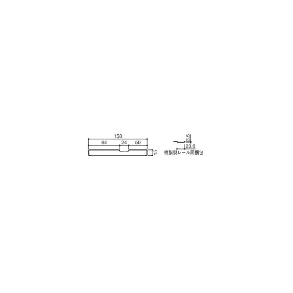 YKKAP造作材 和室用 戸襖引戸[片引き戸]1色枠:厚壁用敷居[幅3900mm]【YKK】【YKK造作材】【YKK襖】【ふすま】【和障子】【室内ドア】【室内引き戸】【押入れ】【室内建材】【建材】