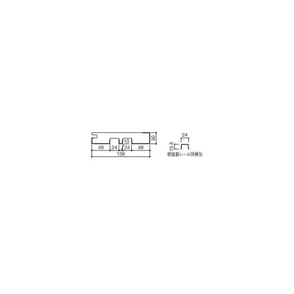 YKKAP造作材 和室用 戸襖引戸[引違い戸2枚建て]1色枠:厚壁用鴨居[幅3900mm]【YKK】【YKK造作材】【YKK襖】【ふすま】【和障子】【室内ドア】【室内引き戸】【押入れ】【室内建材】【建材】