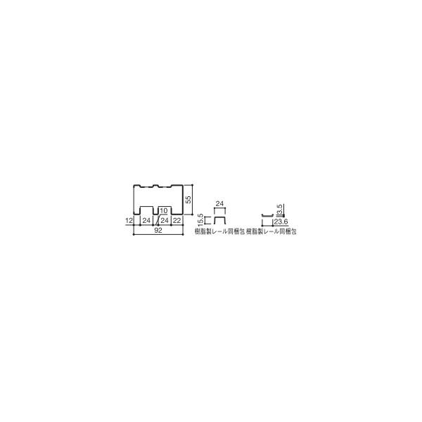 YKKAP造作材 和室用 押入襖[引違い戸]:中鴨居[幅3900mm]【YKK】【YKK造作材】【YKK襖】【ふすま】【和障子】【室内ドア】【室内引き戸】【押入れ】【室内建材】【建材】