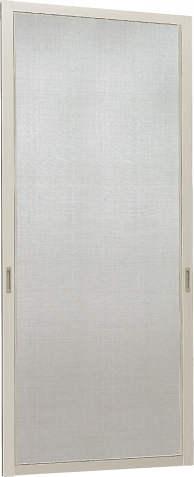 YKKAPオプション 窓サッシ コンセプト窓 防火窓Gシリーズ:スライド網戸[幅698mm×高2196mm]
