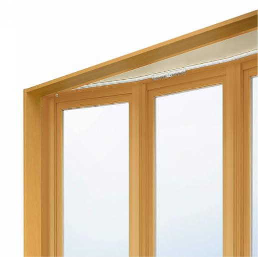 YKKAPオプション窓サッシ出窓出窓220:シングルカーテンレール[幅1235mm用]