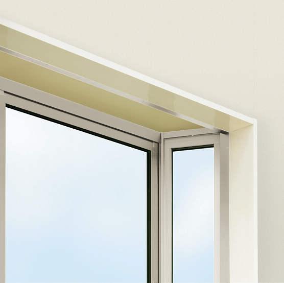 YKKAPオプション 窓サッシ 出窓 出窓220:アルミ額縁 アルミ樹脂複合障子用 4寸柱用