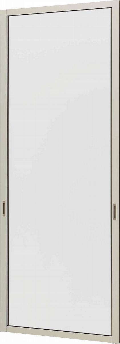 YKKAP窓サッシ オプション フレミングJ クリアネット網戸 両袖片引き窓用:[幅414mm×高1348mm]