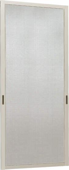 YKKAPオプション窓サッシ出窓出窓220:クリアネットスライド網戸[幅531mm×高921mm]