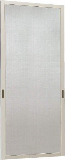 YKKAPオプション窓サッシ出窓出窓220:クリアネットスライド網戸[幅372mm×高921mm]