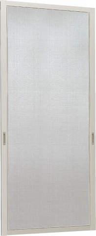 YKKAPオプション窓サッシ引き違い窓フレミングJ:スライド網戸[幅746mm×高1853mm]