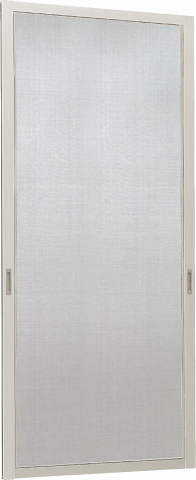 YKKAPオプション窓サッシ引き違い窓フレミングJ:クリアネット網戸[幅746mm×高1853mm]