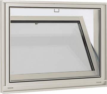 YKKAPオプション窓サッシ装飾窓エピソード:固定網戸クリアネット[幅674mm×高524mm]