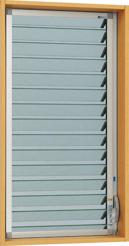 YKKAPオプション窓サッシ装飾窓フレミングJ:固定網戸クリアネット[幅643mm×高1097mm]