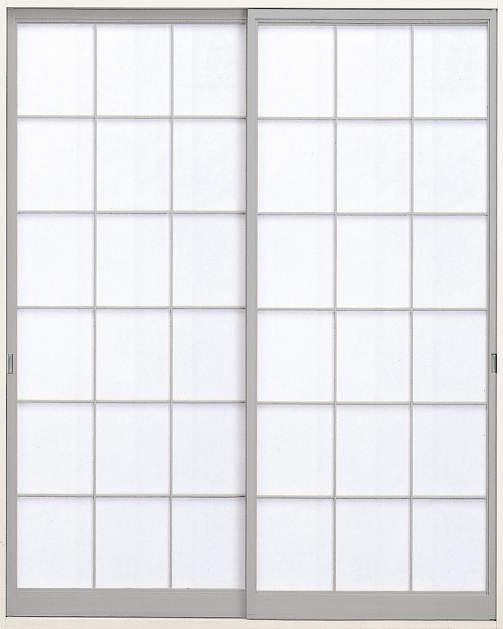 YKKAP室内引戸 ラフォレスタ[新和風] 内障子 引違い戸[2枚建] 新荒間(紙貼障子):[幅1690mm×高2246mm]【YKK】【YKK室内引戸】【室内引き戸】【室内建具】【雪見障子】【和室】【茶室】【押入れ】【障子】【ふすま】【襖】