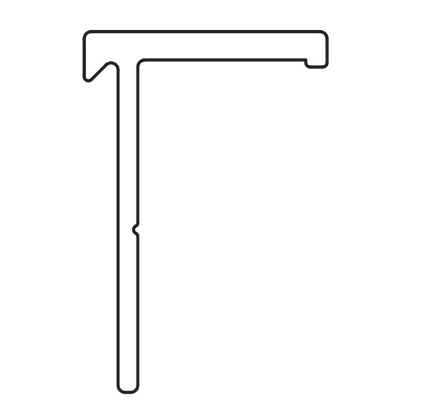 YKKAPオプション窓サッシ引き違い窓フレミングJ:下枠アタッチメント床厚27〜43mm対応L=2430mm