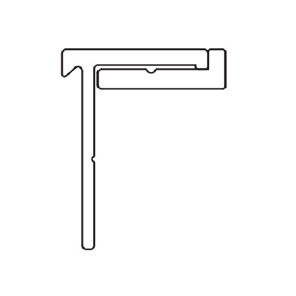 YKKAPオプション窓サッシ引き違い窓フレミングJ:下枠アタッチメント床厚24mm対応L=1780mm