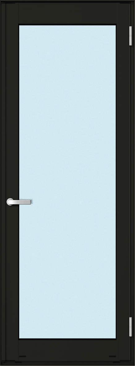 2階、3階のテラスや物干し場への出入口に最適です。室外側はカギがございません。 YKKAP勝手口 テラスドア エピソード仕様 複層ガラス 片開き[2×4工法]:[幅730mm×高2045mm]