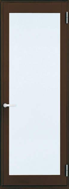 YKKAP勝手口 テラスドア フレミングJ仕様 複層ガラス 片開き[2×4工法]:[幅730mm×高2045mm]【ykk】【YKK勝手口ドア】【ドア】【アルミサッシ】【サッシ】【ペアガラス】【フロア収まり】