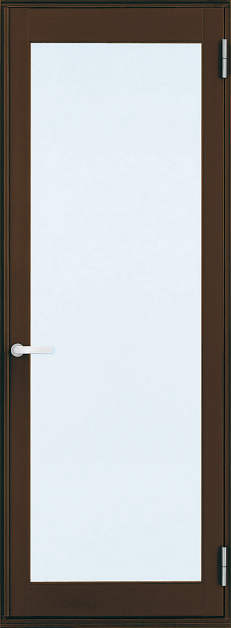 YKKAP勝手口 テラスドア フレミングJ仕様 複層ガラス 片開き[2×4工法][単純段差下枠仕様]:[幅640mm×高2060mm]【ykk】【YKK勝手口ドア】【ドア】【アルミサッシ】【サッシ】【ペアガラス】【フロア収まり】