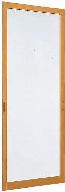 YKKAPオプション 玄関引戸 樹音:中桟無スライド網戸[幅804mm×高2203mm]