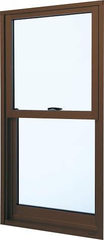 YKKAP窓サッシ 装飾窓 フレミングJ[Low-E複層防犯ガラス] 片上げ下げ窓 [Low-E透明3mm+合わせガラス型7mm]:[幅405mm×高770mm]