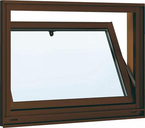 YKKAP窓サッシ 装飾窓 フレミングJ[Low-E複層防犯ガラス] 内倒し窓 [Low-E透明5mm+合わせガラス透明7mm]:[幅640mm×高370mm]