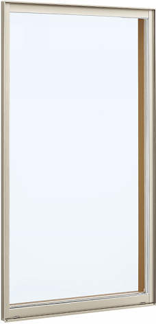 YKKAP窓サッシ 装飾窓 フレミングJ[複層防音ガラス] FIX窓 在来工法[透明4mm+透明3mm]:[幅405mm×高770mm]