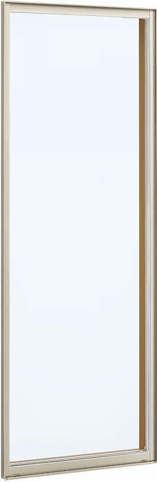 YKKAP窓サッシ 装飾窓 フレミングJ[複層防音ガラス] FIX窓 2×4工法[透明5mm+透明4mm]:[幅640mm×高1845mm]