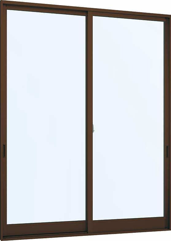 [福井県内のみ販売商品]YKKAP窓サッシ 引き違い窓 フレミングJ[Low-E複層防犯ガラス] 2枚建 半外付型[Low-E透明5mm+合わせ型7mm]:[幅2550mm×高2030mm]