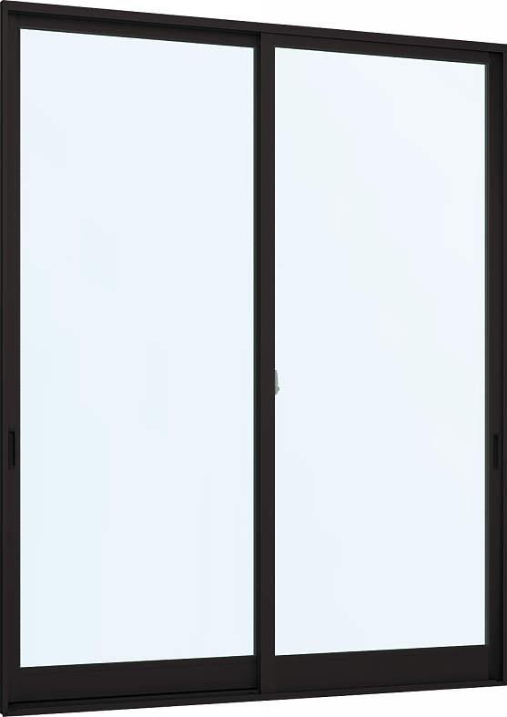 [福井県内のみ販売商品]YKKAP窓サッシ 引き違い窓 フレミングJ[Low-E複層防犯ガラス] 2枚建 外付型[Low-E透明4mm+合わせ透明7mm]:[幅2632mm×高1803mm]