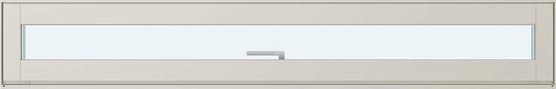 YKKAP窓サッシ 装飾窓 エピソード[Low-E複層ガラス] ウインスター 横スリットすべり出し窓:[幅1690mm×高203mm]【YKK】【樹脂サッシ】【断熱サッシ】【嵌殺し】【ハメ殺し】【ペアガラス】【滑り出し】【小窓】【紫外線カット】【UVカット】【飾り窓】