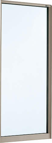 YKKAP窓サッシ 装飾窓 エピソード[Low-E複層防犯ガラス] FIX窓 在来工法[Low-E透明5mm+合わせ透明7mm]:[幅640mm×高2030mm]