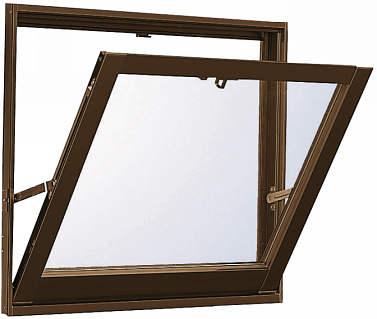 YKKAP窓サッシ 装飾窓 エピソード[Low-E複層防犯ガラス] 外倒し窓 排煙錠仕様Low-E透明3+合わせガラス透明7mm:[幅730mm×高770mm]