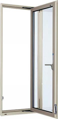 YKKAP窓サッシ 装飾窓 エピソード[複層防犯ガラス] たてすべり出し窓 カムラッチ仕様[透明3mm+合わせ透明7mm]:[幅640mm×高1370mm]