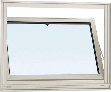 YKKAP窓サッシ 装飾窓 エピソード[複層防犯ガラス] 内倒し窓 [透明3mm+合わせ透明7mm]:[幅640mm×高370mm]