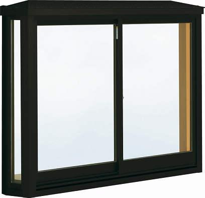 YKKAP窓サッシ 出窓 居室用[出窓220][Low-E複層ガラス] 台形出窓[雨音軽減屋根] アルミ樹脂複合障子:[幅1640mm×高1170mm]