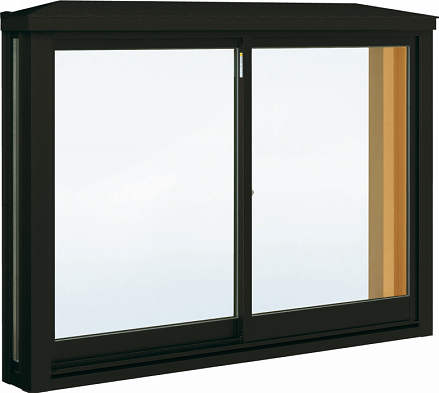 YKKAP窓サッシ 出窓 居室用[出窓220][Low-E複層防犯ガラス] 角型出窓[標準屋根] アルミ樹脂障子Low-E透明3mm+合わせ型7mm:[幅780mm×高1170mm]