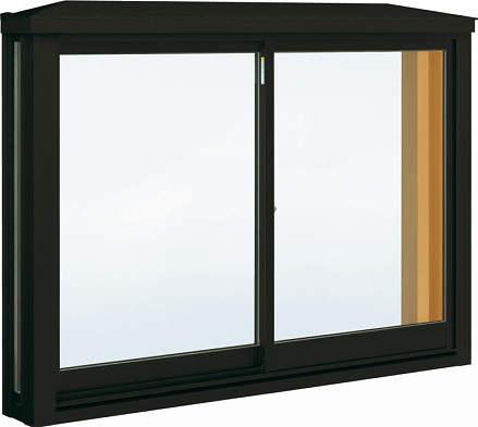 YKKAP窓サッシ 出窓 居室用[出窓220][Low-E複層防犯ガラス] 角型出窓[標準屋根] アルミ樹脂障子Low-E透明4mm+合わせ透明7mm:[幅780mm×高1170mm]