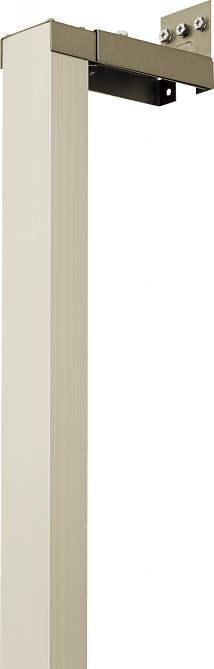 YKKAPオプション 窓まわり 窓手すり 手すり3WT:戸袋逃げ柱