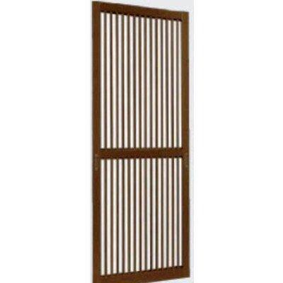 YKKAPオプション 玄関引戸 玄関引戸80型:格子付スライド網戸