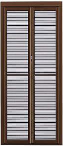 YKKAPオプション 玄関引戸 玄関引戸40型:格子付中折網戸[幅805mm×高1820mm]