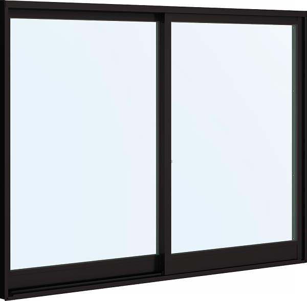 YKKAP窓サッシ 引き違い窓 フレミングJ[複層防音ガラス] 2枚建 外付型[透明4mm+透明3mm]:[幅1812mm×高303mm]【YKK】【窓サッシ】【防音サッシ】【防音窓】【ペアガラス】